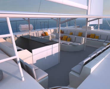 Catamaran Rental for groups for up to 110 guests. Corporate Events in Spain. Boats and Events. Private Events aboard catamarans.