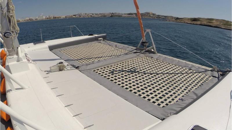 Sailing catamaran rental Ibiza groups. Corporate and private parties sailing
