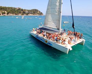 Catamarán en Sitges para eventos