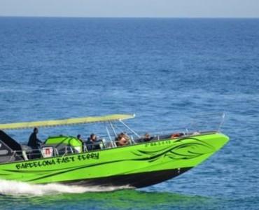 Fast ferry en Barcelona