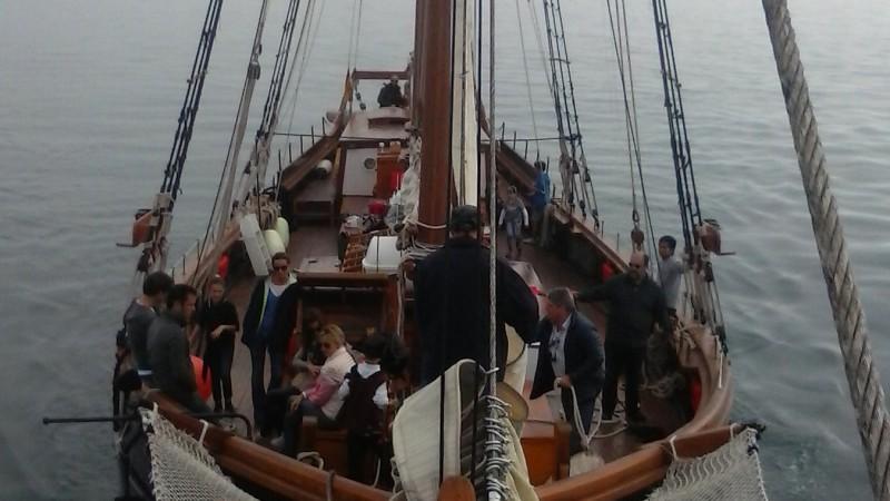 goleta Äran fiesta barco barcelona