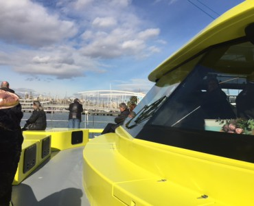 Catamaran rental in Barcelona for groups up to 250 passengers